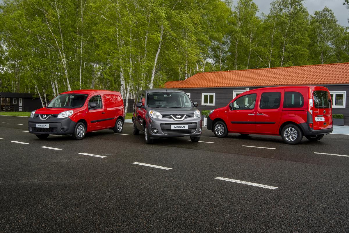 Nissan dévoile le fourgon compact NV250Nissan Couriant Aix
